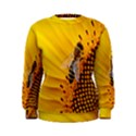 Sun Flower Bees Summer Garden Women s Sweatshirt View1