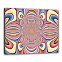 Pastel Shades Ornamental Flower Canvas 20  x 16  View1