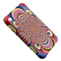 Pastel Shades Ornamental Flower Apple iPhone 3G/3GS Hardshell Case View5