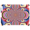 Pastel Shades Ornamental Flower Apple iPad 2 Hardshell Case (Compatible with Smart Cover) View1