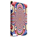Pastel Shades Ornamental Flower Apple iPad 2 Hardshell Case (Compatible with Smart Cover) View2