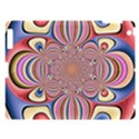 Pastel Shades Ornamental Flower Apple iPad 3/4 Hardshell Case View1