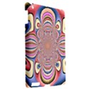 Pastel Shades Ornamental Flower Apple iPad 3/4 Hardshell Case View2