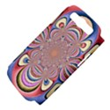 Pastel Shades Ornamental Flower Samsung Galaxy S III Hardshell Case (PC+Silicone) View4