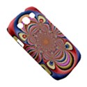 Pastel Shades Ornamental Flower Samsung Galaxy S III Classic Hardshell Case (PC+Silicone) View5
