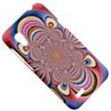 Pastel Shades Ornamental Flower HTC Desire VT (T328T) Hardshell Case View5