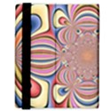 Pastel Shades Ornamental Flower Samsung Galaxy Tab 8.9  P7300 Flip Case View3