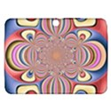 Pastel Shades Ornamental Flower Samsung Galaxy Tab 3 (10.1 ) P5200 Hardshell Case  View1