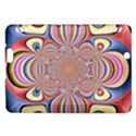 Pastel Shades Ornamental Flower Kindle Fire HDX Hardshell Case View1