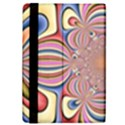 Pastel Shades Ornamental Flower iPad Mini 2 Flip Cases View4