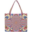 Pastel Shades Ornamental Flower Mini Tote Bag View1