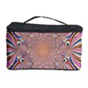Pastel Shades Ornamental Flower Cosmetic Storage Case View1