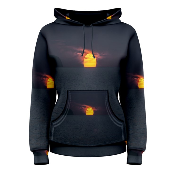 Sunset Ocean Azores Portugal Sol Women s Pullover Hoodie