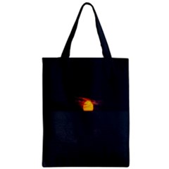 Sunset Ocean Azores Portugal Sol Zipper Classic Tote Bag