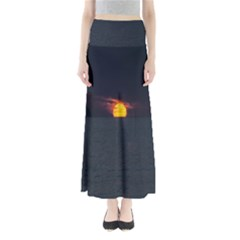 Sunset Ocean Azores Portugal Sol Maxi Skirts
