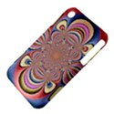 Pastel Shades Ornamental Flower Apple iPhone 3G/3GS Hardshell Case (PC+Silicone) View4