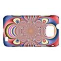 Pastel Shades Ornamental Flower Samsung Galaxy S II i9100 Hardshell Case (PC+Silicone) View1