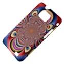 Pastel Shades Ornamental Flower Samsung Galaxy S II i9100 Hardshell Case (PC+Silicone) View4
