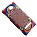 Pastel Shades Ornamental Flower HTC 8S Hardshell Case View5