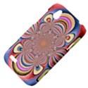 Pastel Shades Ornamental Flower HTC Desire V (T328W) Hardshell Case View4