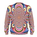 Pastel Shades Ornamental Flower Men s Sweatshirt View2