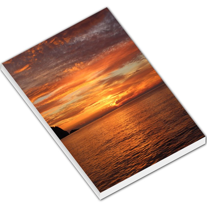 Sunset Sea Afterglow Boot Large Memo Pads