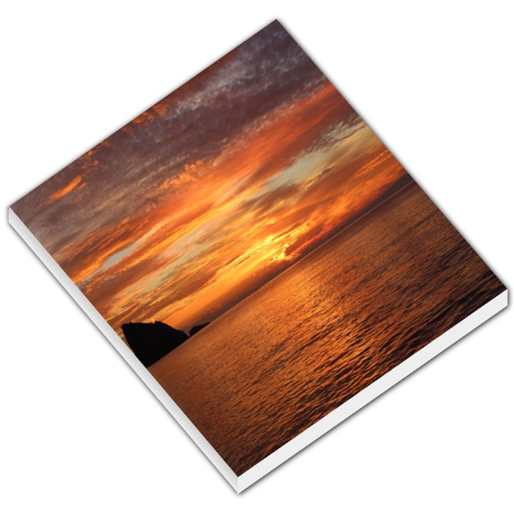 Sunset Sea Afterglow Boot Small Memo Pads