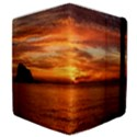 Sunset Sea Afterglow Boot Samsung Galaxy Tab 10.1  P7500 Flip Case View4