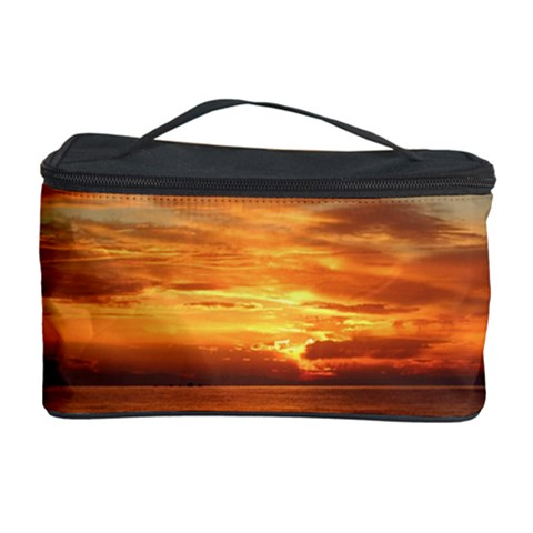 Sunset Sea Afterglow Boot Cosmetic Storage Case