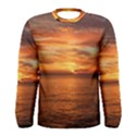 Sunset Sea Afterglow Boot Men s Long Sleeve Tee View1