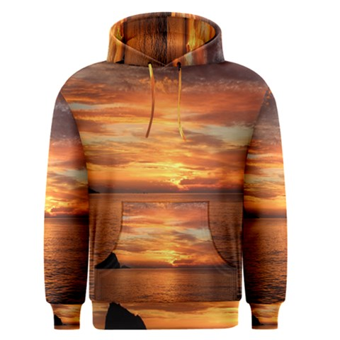 Sunset Sea Afterglow Boot Men s Pullover Hoodie