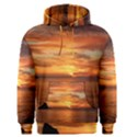 Sunset Sea Afterglow Boot Men s Pullover Hoodie View1