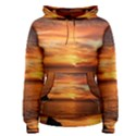 Sunset Sea Afterglow Boot Women s Pullover Hoodie View1