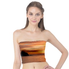 Sunset Sea Afterglow Boot Tube Top