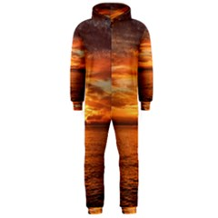 Sunset Sea Afterglow Boot Hooded Jumpsuit (Men)