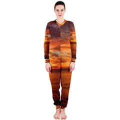 Sunset Sea Afterglow Boot OnePiece Jumpsuit (Ladies)
