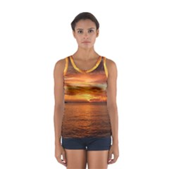 Sunset Sea Afterglow Boot Women s Sport Tank Top
