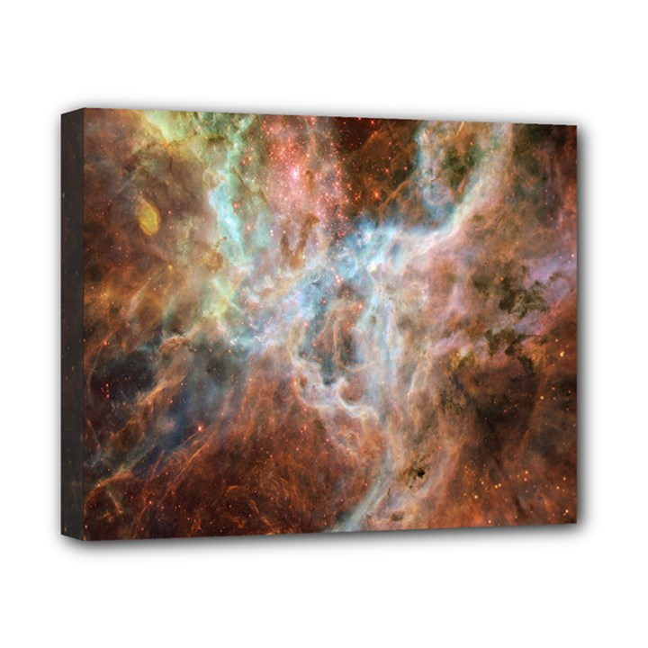 Tarantula Nebula Central Portion Canvas 10  x 8