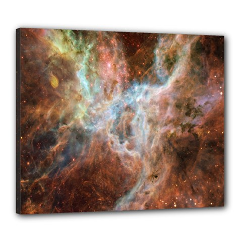 Tarantula Nebula Central Portion Canvas 24  x 20