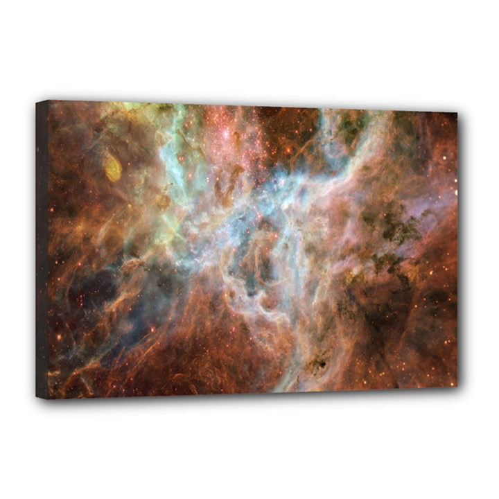 Tarantula Nebula Central Portion Canvas 18  x 12