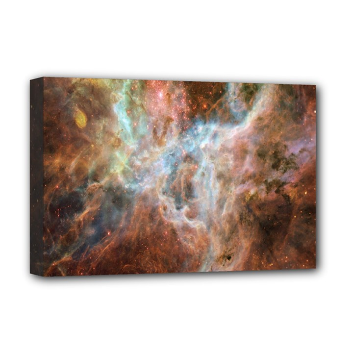 Tarantula Nebula Central Portion Deluxe Canvas 18  x 12