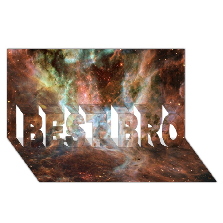 Tarantula Nebula Central Portion BEST BRO 3D Greeting Card (8x4)