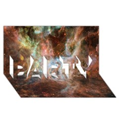 Tarantula Nebula Central Portion PARTY 3D Greeting Card (8x4)