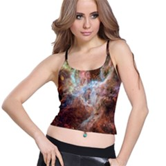 Tarantula Nebula Central Portion Spaghetti Strap Bra Top