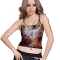 Tarantula Nebula Central Portion Spaghetti Strap Bra Top View1