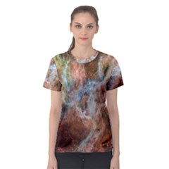 Tarantula Nebula Central Portion Women s Sport Mesh Tee
