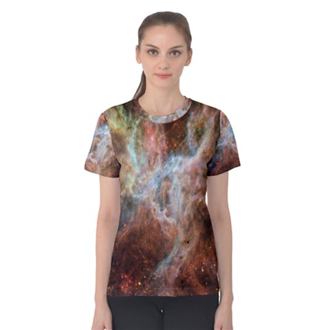 Tarantula Nebula Central Portion Women s Cotton Tee