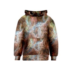 Tarantula Nebula Central Portion Kids  Pullover Hoodie