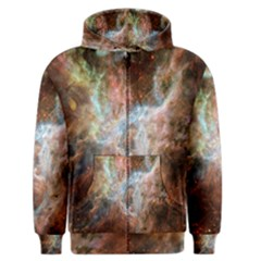 Tarantula Nebula Central Portion Men s Zipper Hoodie
