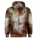 Tarantula Nebula Central Portion Men s Zipper Hoodie View1